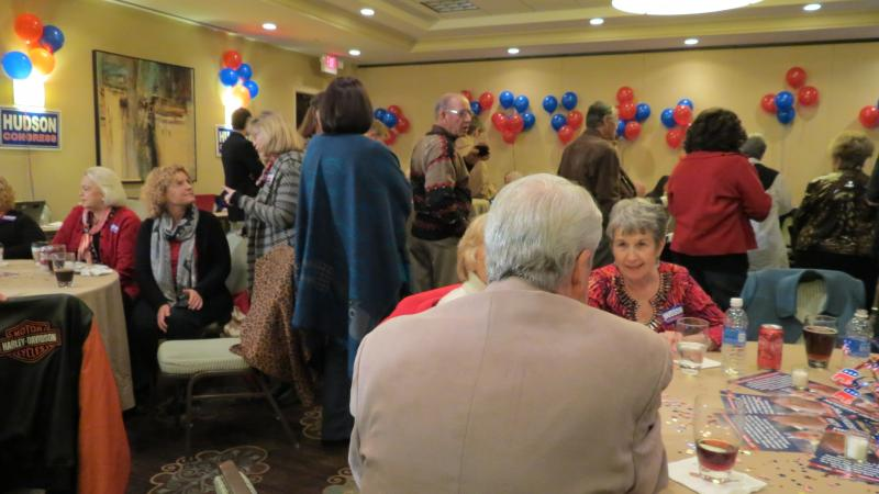 Hudson for Congress celebration