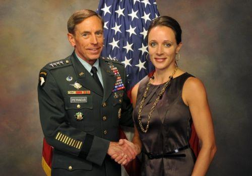 Gen. David Petraeus and Paula Broadwell.