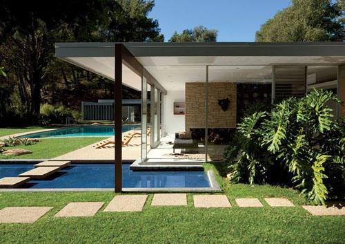 Mid-Century Modern Architecture. Design by Richard Neutra.