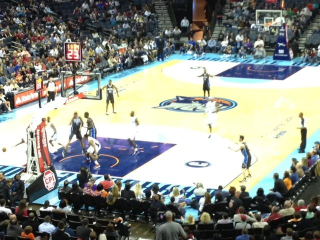 Charlotte Bobcats vs. Orlando Magic, December 15, 2012, Time Warner Cable Arena