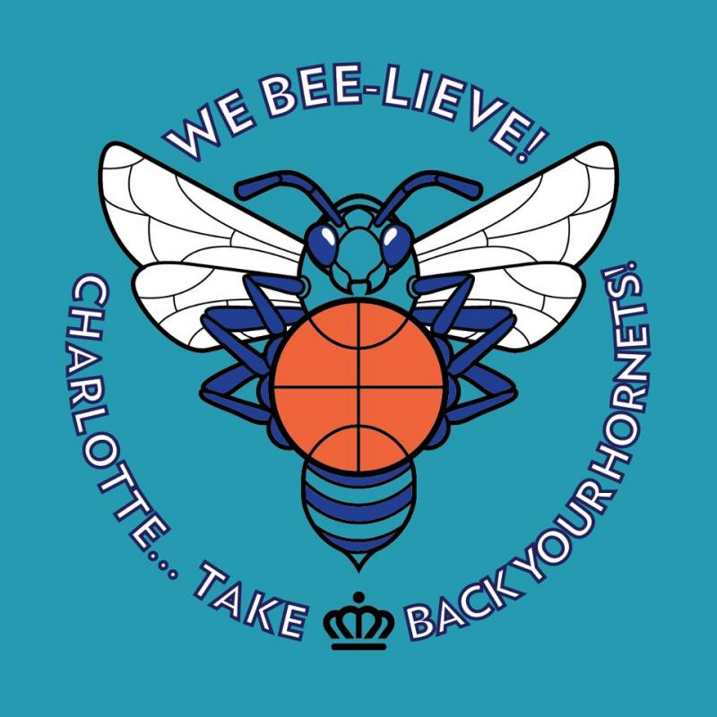"The logo for the ""We-BEE-lieve"" campaign."
