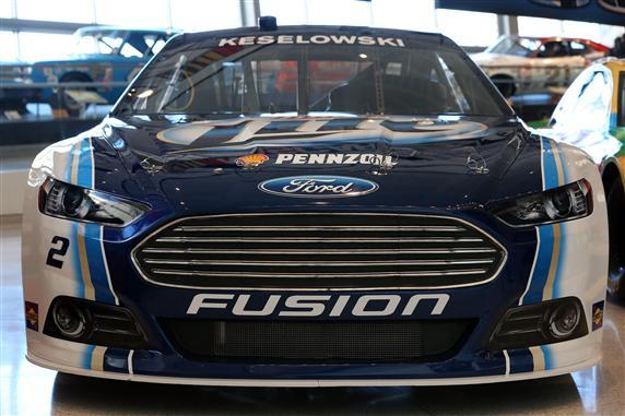 The new Ford Fusion NASCAR stock car