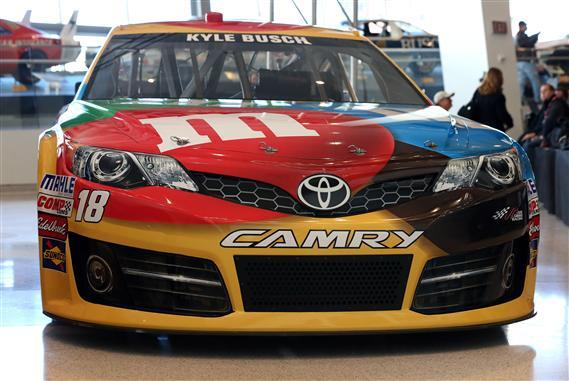 The new Toyota Camry NASCAR stock car