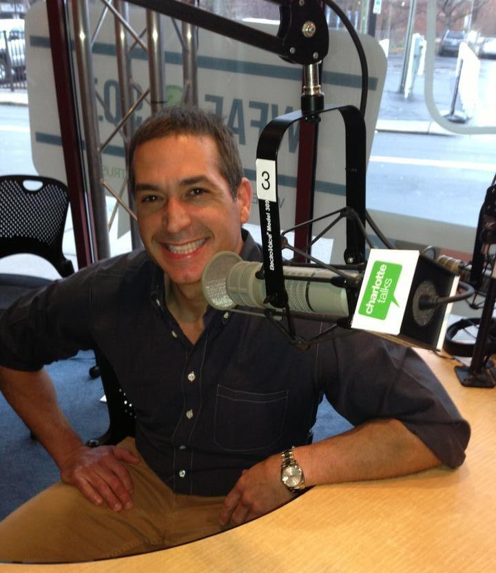 Bobby Deen in our Spirit Square studio.