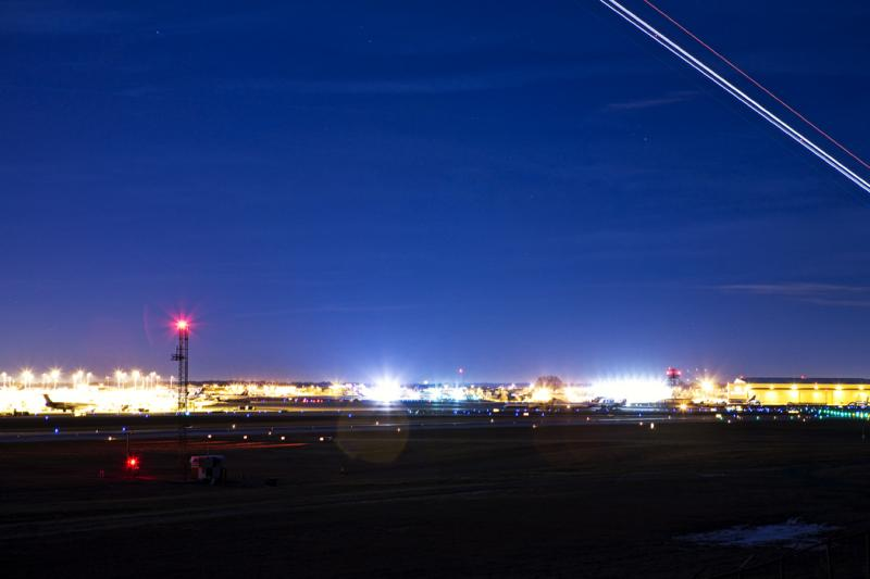 CLT Airport At Night