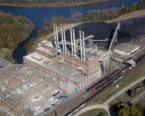 Riverbend Steam Station in Gaston County is a coal-fired power plant that Duke Energy is closing.
