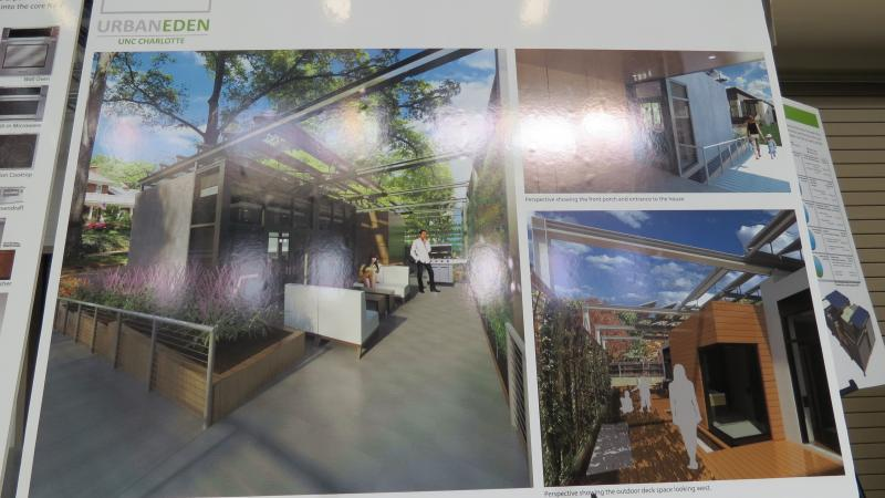 "A digital rendering of ""Urban Eden"" at the ground-breaking ceremony."