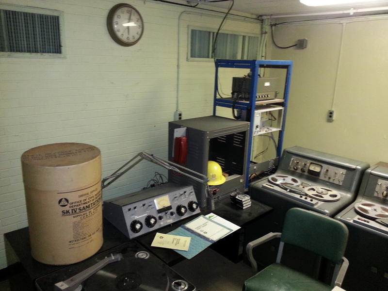 WBT's bomb shelter is a perfectly-preserved relic of the Cold War era.