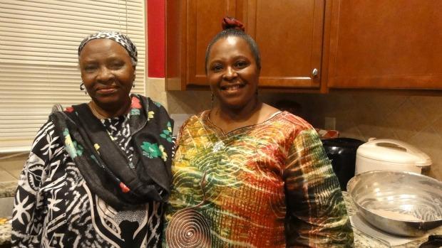 Fatu Bangura and her daughter, Theresa Macon