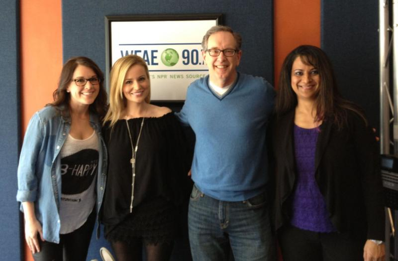 Mike with Megan Henshall, Emily Maynard and Dr. Darshana Hawks