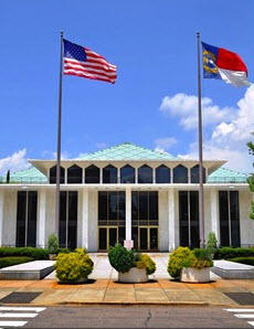 North Carolina General Assembly building.
