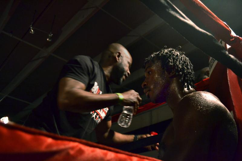 "Boxer John ""Spidey"" Williams is ranked 41 in his weight class in the country. He is also a poet. ""I wanted people to understand and listen to my words rather than just think I'm a fighter,"" he says. ""A lot of times they say boxers are not thinkers."""