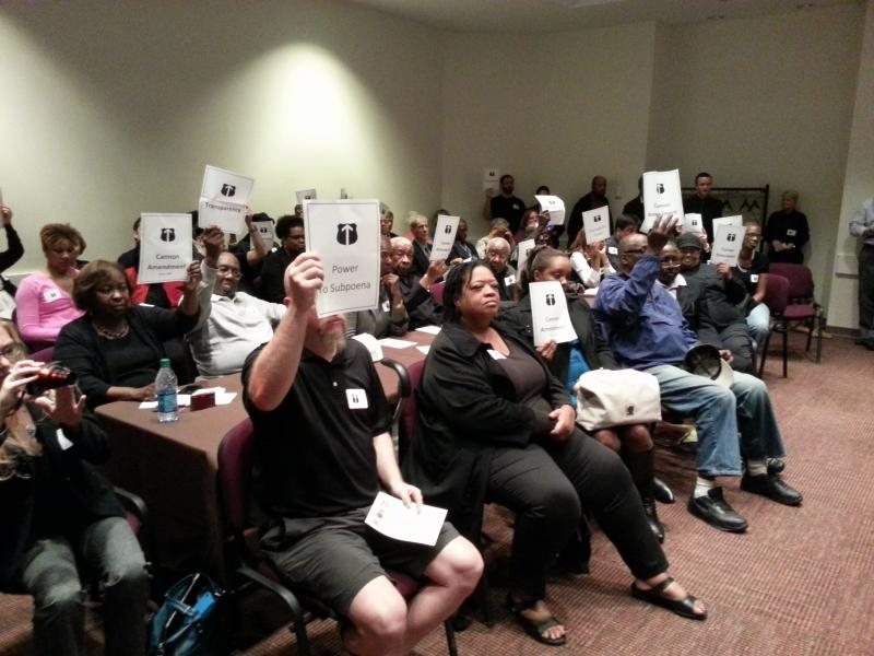 Citizens and civil rights advocates call on the Charlotte City Council to give the Citizens Review Board more power.