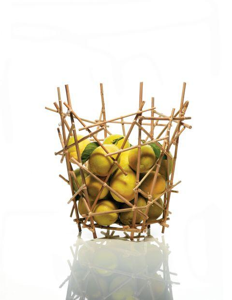 Fernando Campana. Brazilian, 1961Humberto Campana. Brazilian, 1953Alessi. Crusinallo, Italy, 1921Citrus Basket, Blow Up Bamboo Collection designed 2003