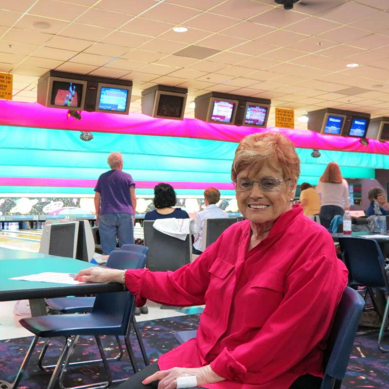Nellie Manning is president of the Lake Norman Trio women's bowling league.  She's bowled in the US Bowling Congress Women's Championships 35 years, including 2007 when the event was held in Charlotte.