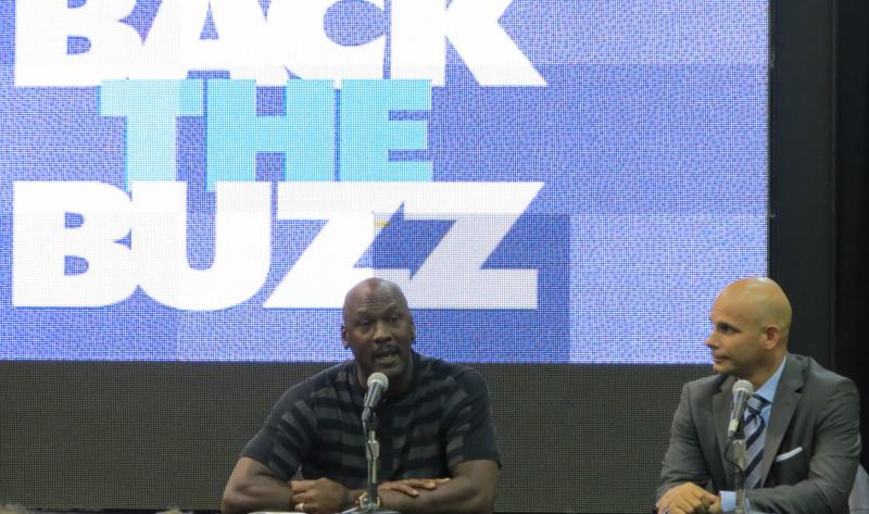 Owner Michael Jordan and Chief Marketing Officer Pete Guelli announced the name-change in May.