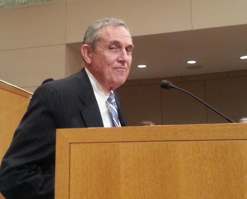 FILE PHOTO: Jerry Orr speaks to the Charlotte City Council at a meeting in 2013.