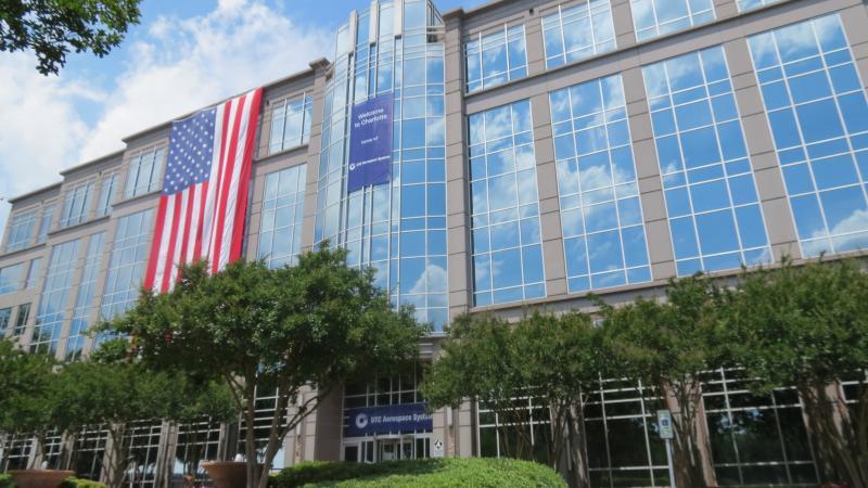 UTC Aerospace System's new world headquarters in West Charlotte.