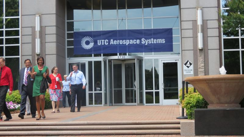 UTC Aerospace System's new world headquarters in West Charlotte.