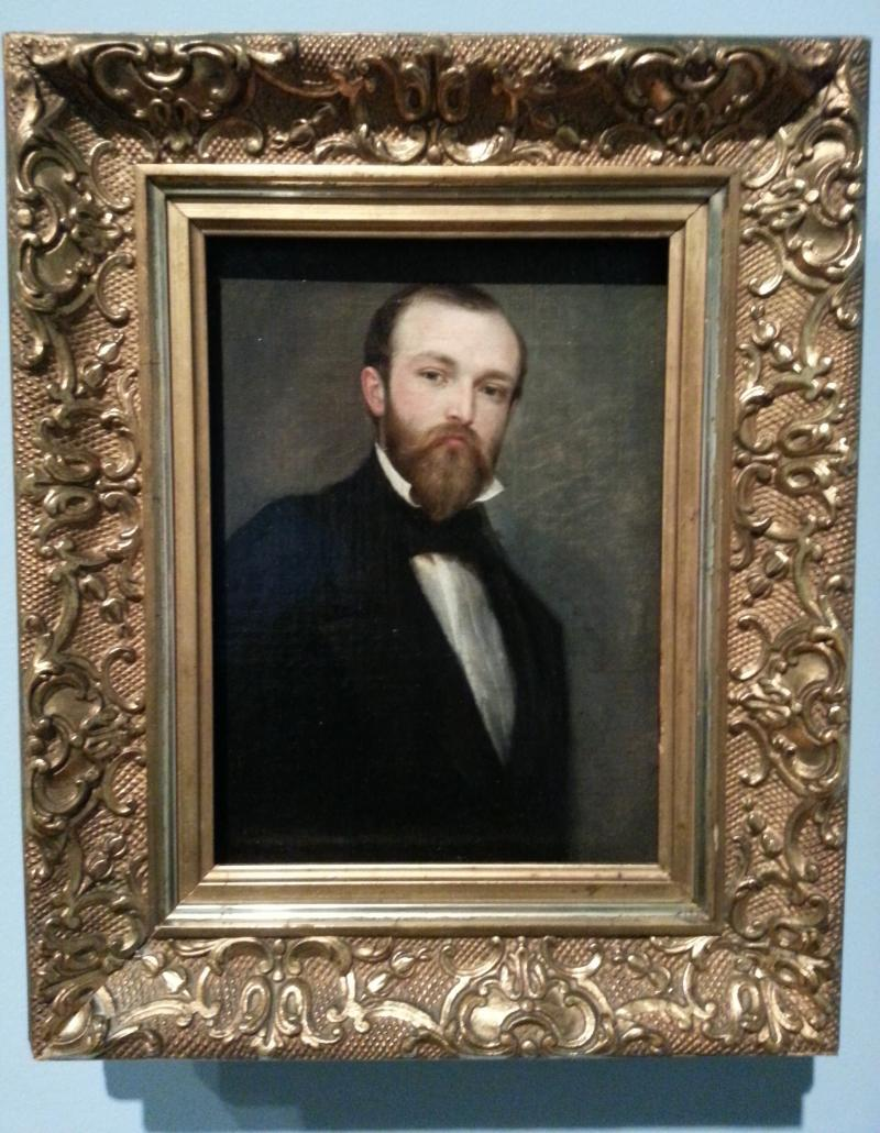 The work of American painter Richard Caton Woodville (including this self-portrait) is on display at the Mint Museum Randolph beginning June 28.