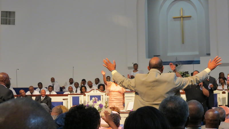Over 1,000 people were in attendance for a sermon at Ebenezer Baptist Church on June 23.