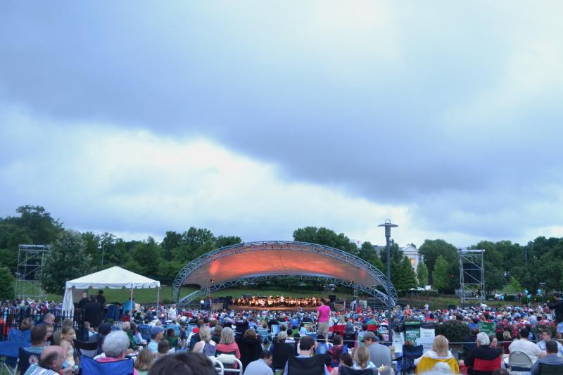 The Charlotte Symphony's Independence Day Pops Concert