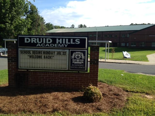 Druid Hills and four other CMS schools began this week