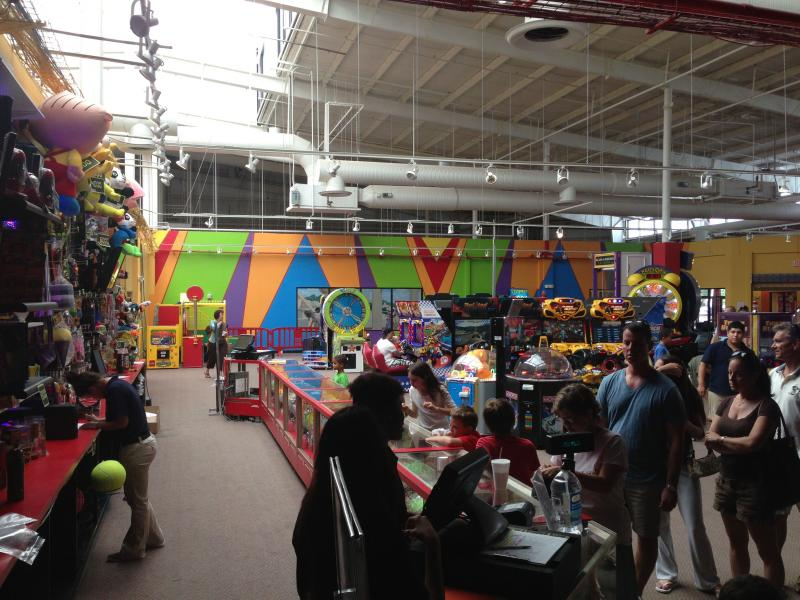 The Happy Zone's arcade has about 50 games.