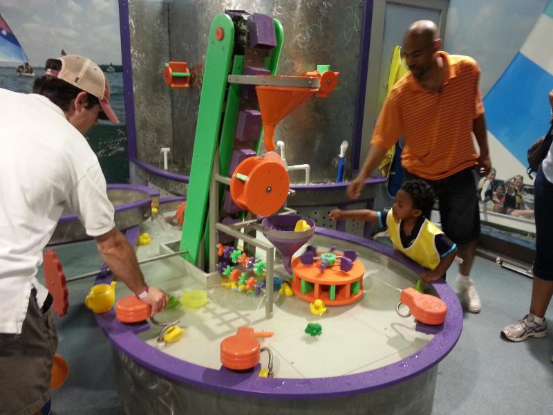 Discovery Place Kids in Huntersville caters to families with younger children 'without constantly putting their children into the car and driving Uptown,' says Discovery Place CEO John Mackay.