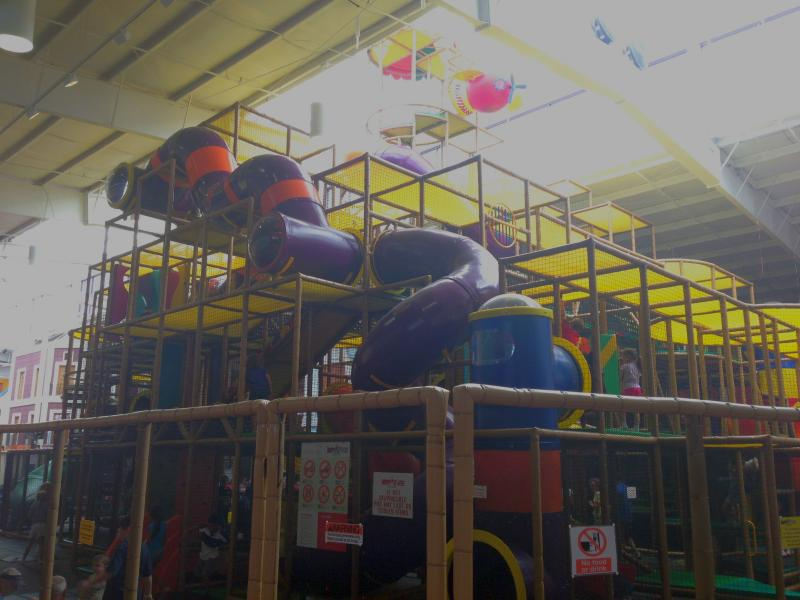 Happy Zone is three stories tall and has six play levels