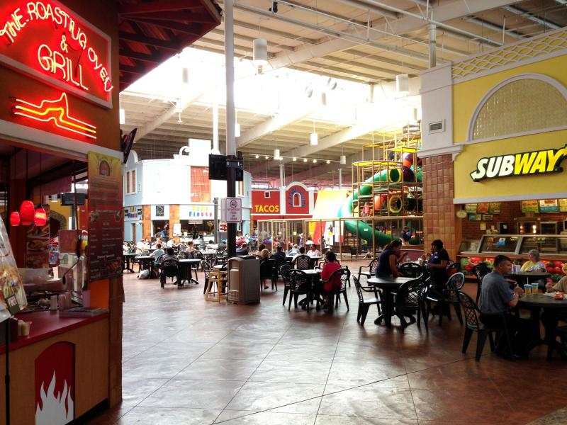 Plaza Fiesta has a variety of restaurants