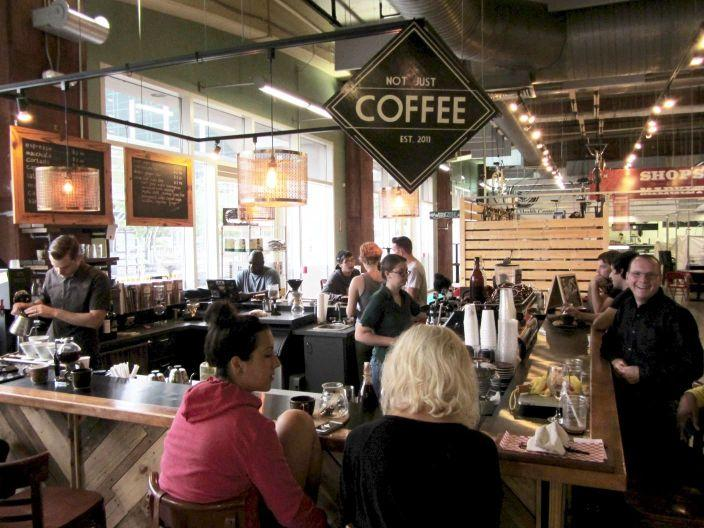 Not Just Coffee at 7th Street Public Market