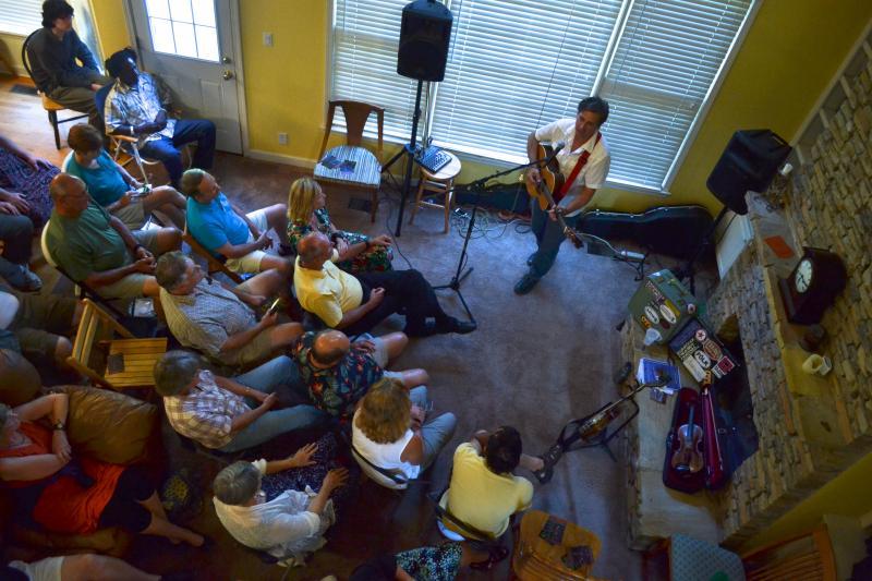 living room concerts. Charlotte s Other Concert Venue  Your Living Room WFAE