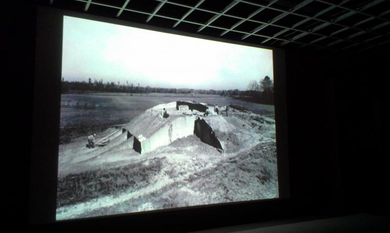 Before going out to the site, visitors can watch a short documentary of how the mounds were discovered, excavated and rebuilt.