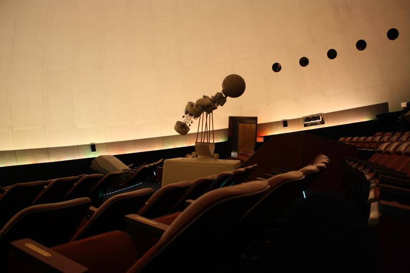 The Lynn Planetarium at the Schiele Museum