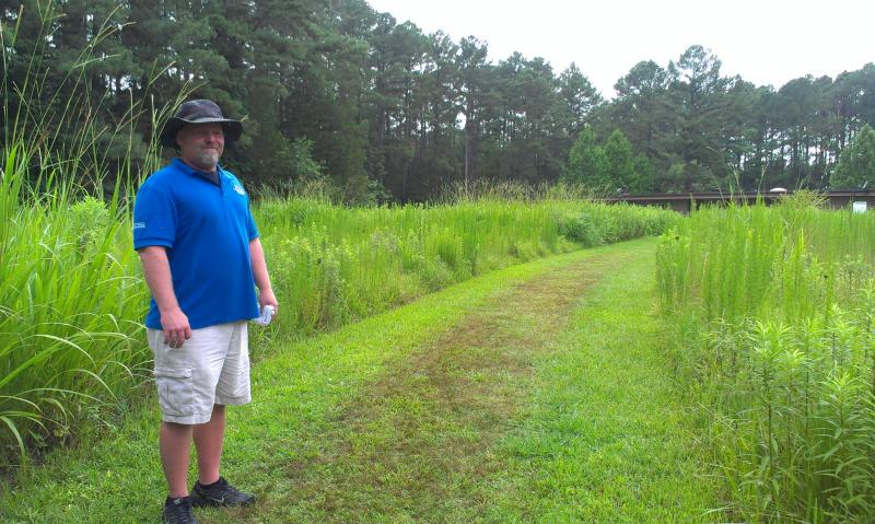 Rich Thompson is site manager of Town Creek Indian Mound.