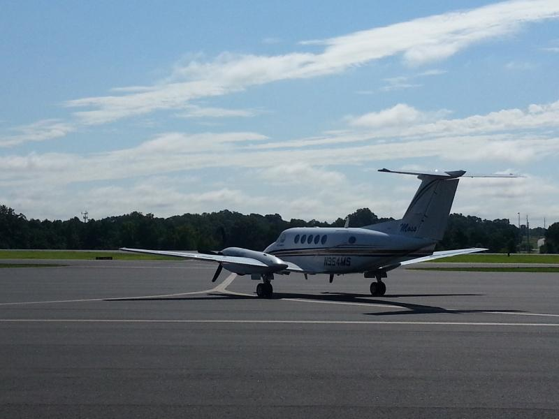 Today, small private planes and charter flights - mainly for NASCAR teams - fly in and out of Concord Regional Airport.
