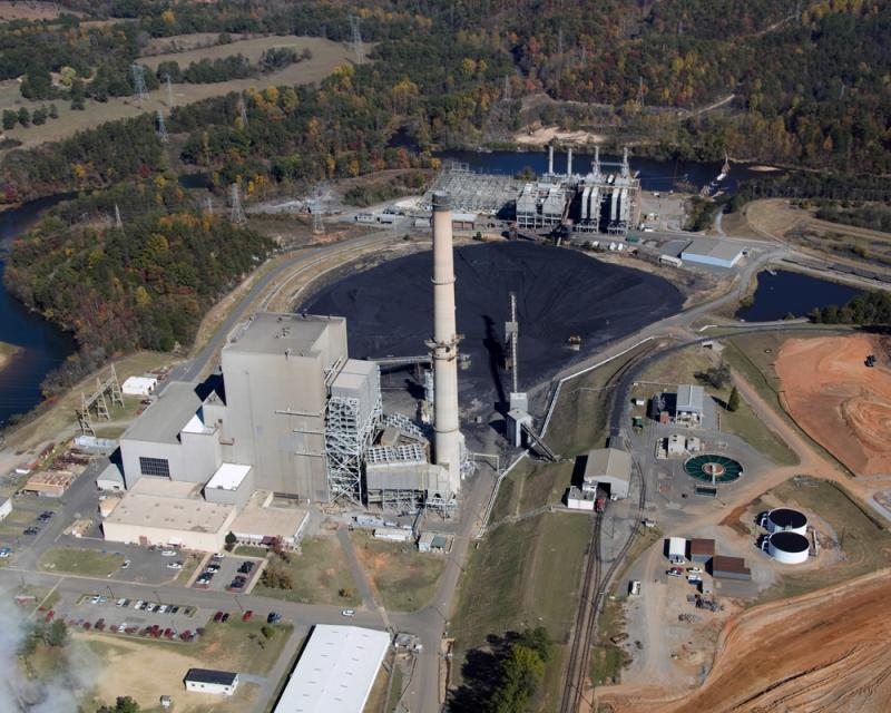 Duke Energy has completed a new coal-fired unit at its Cliffside power plant in Mooresboro, NC.