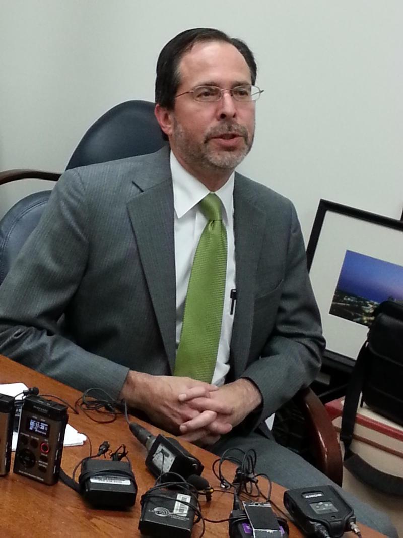 FILE: Charlotte City Attorney Bob Hagemann.