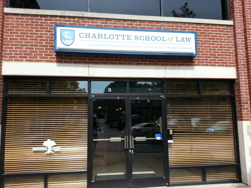Charlotte School of Law's eight clinics operate out of a standalone office in South End.
