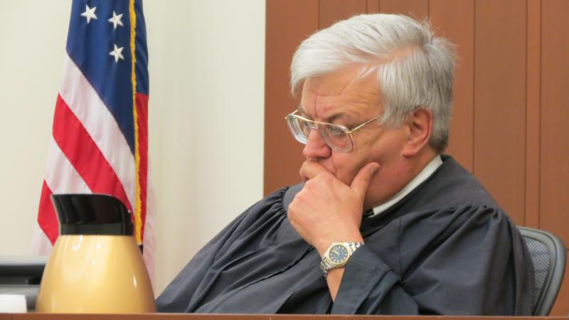 Superior Court District Judge Richard Boner signed an order to block the release the dash cam video.