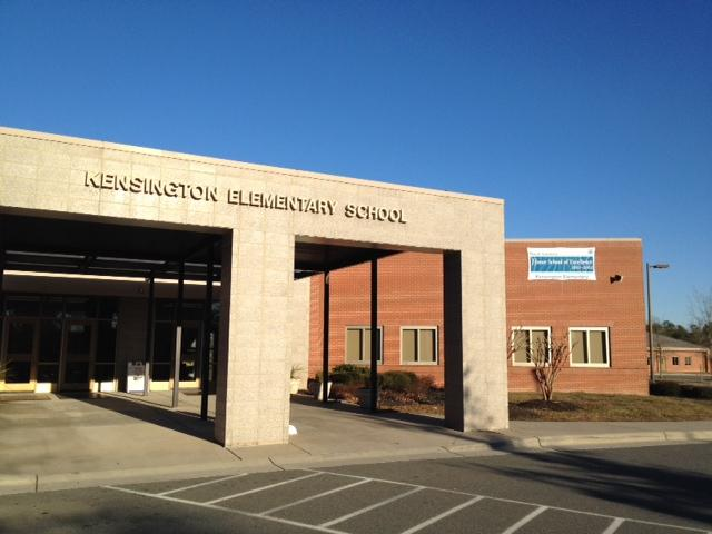 Kensington Elementary in Waxhaw was built in 2005.  It's now at 124 percent capacity.