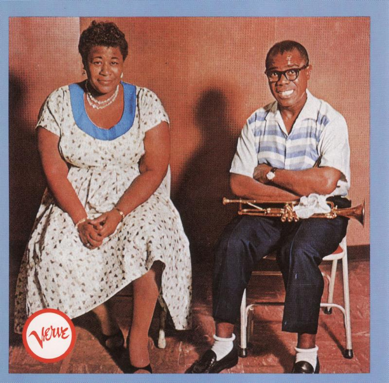 8. Ella and Louis - Ella Fitzgerald and Louis Armstrong