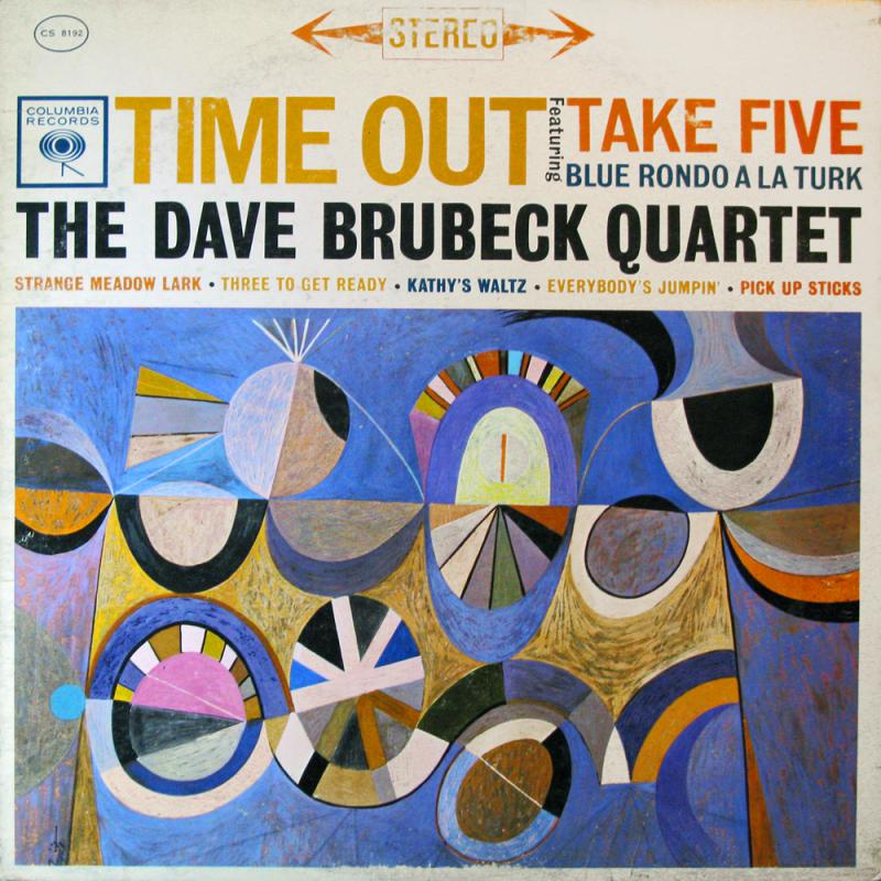 1. Time Out - Dave Brubeck