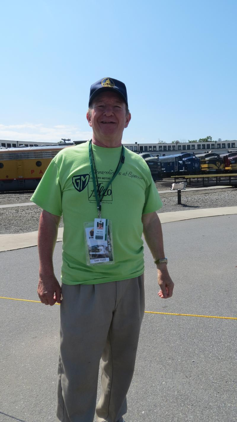 Bob Loehne is a N.C. Transportation Museum volunteer, former board members and an avid rail fan.