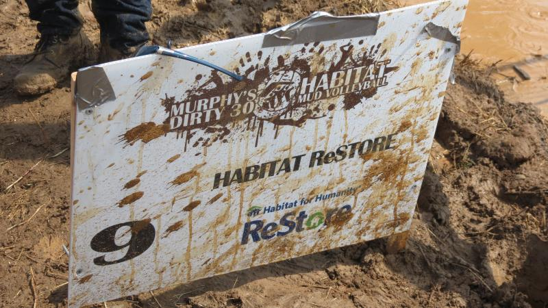 The mud volleyball tournament raised $200,000 for Habitat for Humanity Charlotte. The first fundraiser, eight years ago, raised $2,000.