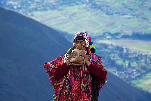 Q'eros shaman, called a Paqo.