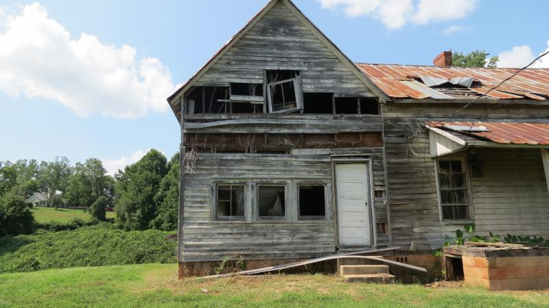 """One of three """"big houses"""" town owners used to inhabit."""