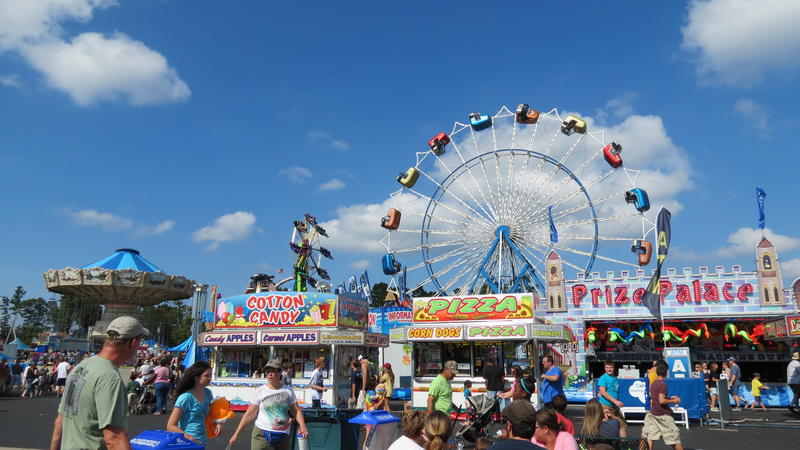 The Cabarrus County Fair celebrated its 60th anniversary in 2012.