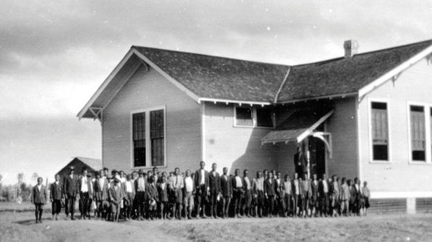 The Rosenwald Schools were built to provide education for poor, southern, African-American communities. These communities raised a portion of the cost of building each school.